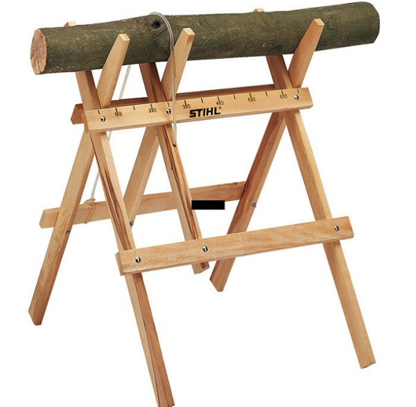 Useful Chainsaw Sawhorse