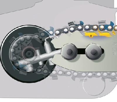 Stihl MS170 Chainsaw Oil Lubrication