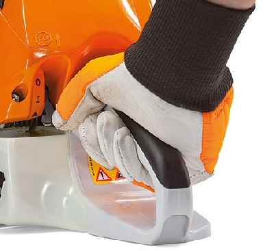 Stihl MS170 Chain Saw Single Lever Control
